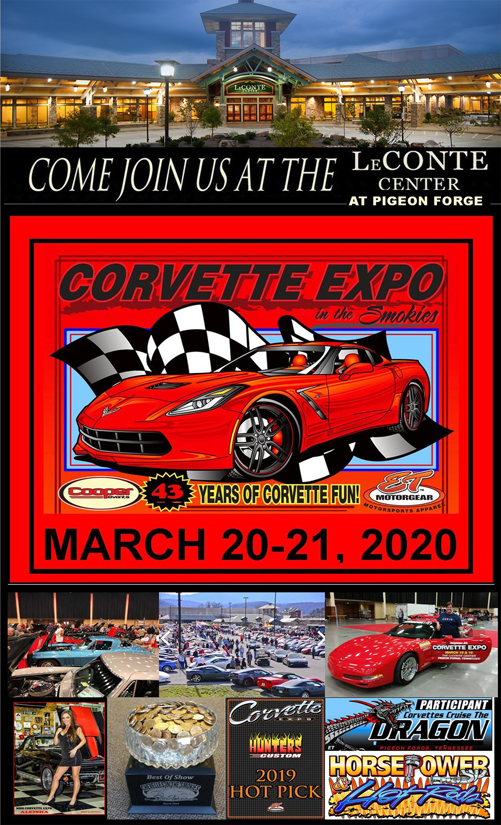 Corvette Expo | Spring Show - March 15-16, 2019